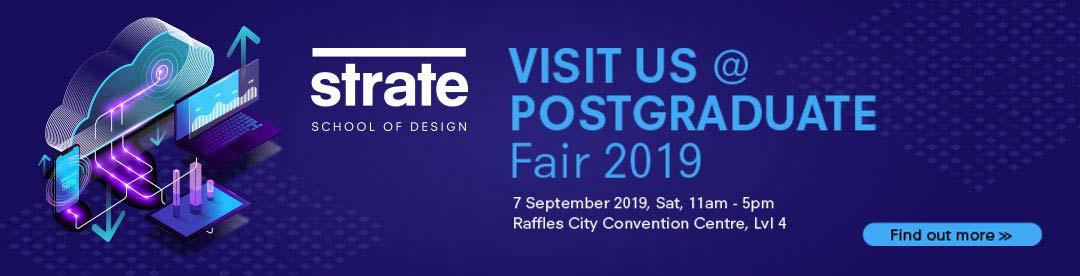Strate, exhibitor at PostGraduate Fair!