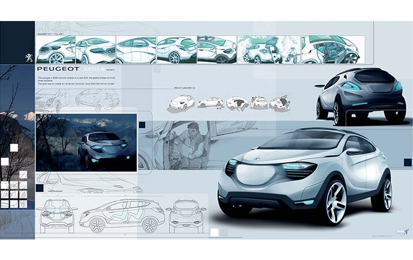 What Is Automotive Design Strate School Of Design
