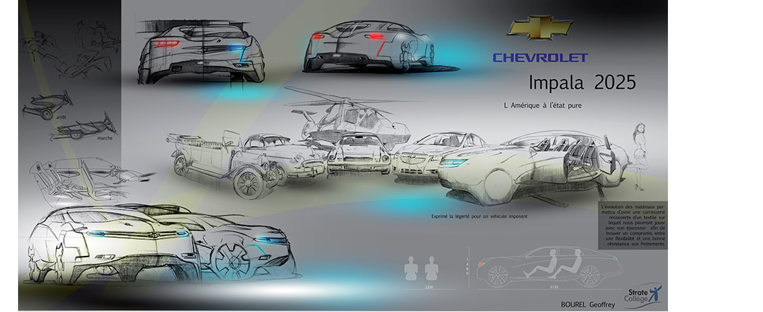 exterior car design project