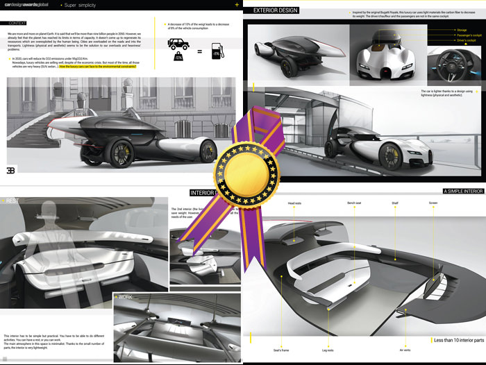 All Shortlisted And Finalist Students Of The Car Design Awards Global 2015 Will Be Invited To Ceremony On 14 September In Frankfurt For