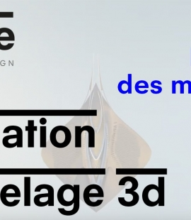 """Formation modeleur 3d - Strate, école de design - 2018 - Animation """"La cité des meriens"""""""