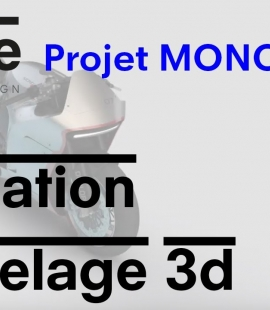 Formation modeleur 3d - Strate, école de design - 2018 - Animation Mono RACR