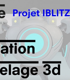 Formation 3d - Strate, école de design - 2018 - Animation IBLITZCRANK