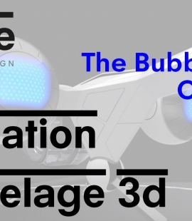 Formation modeleur 3d - Strate, école de design - 2018 - The Bubbleship Oblivion - Grégoire Brunet