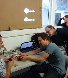 Strate School of Design - Net Gadgeteer - Workshop