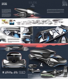 Transportation Design Project MERCEDES-ECLIPSE