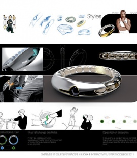 Strate School of Design 3rd Year Interaction Major Projects - Jewels and Interactivity