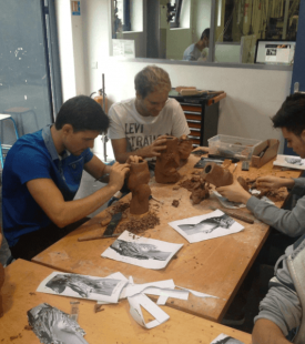 Strate School of design 3d modeling workshop