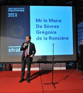 Strate 2014 graduation ceremony