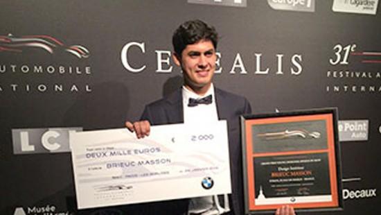 Strate design school student award winner