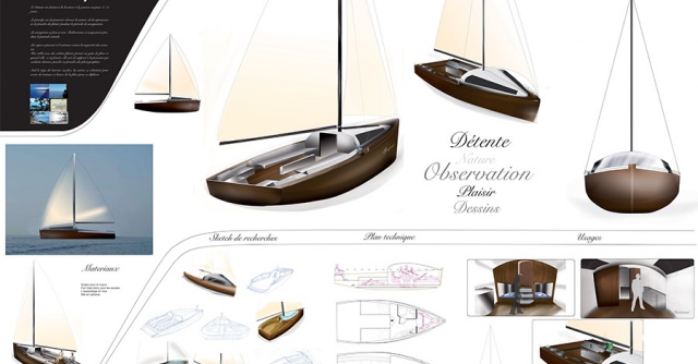 Strate School of Design- Boat Design - 3rd Year Mobility Major